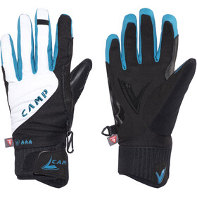 Camp G Hot Dry Guantes Mujer, white/turquoise